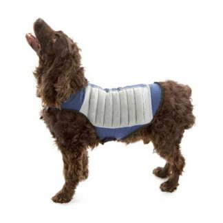 Cool K9 Dog Cooling Jacket Medium Blue/Gray