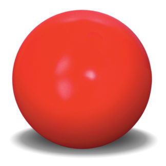 "Hueter Toledo Virtually Indestructible Ball 4.5 inches Assorted 4.5"" x 4.5"" x 4.5"""