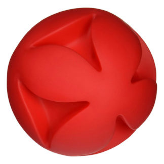 "Hueter Toledo Soft Flex Best Clutch Ball Dog Toy Red 7"" x 7"" x 7"""
