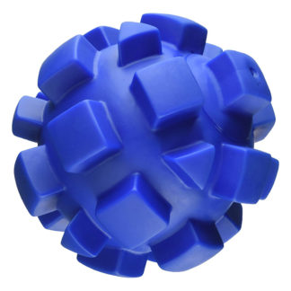 "Hueter Toledo Soft Flex Bumby Ball Dog Toy Blue 7"" x 7"" x 7"""