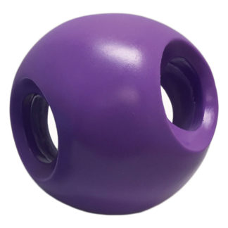 "Hueter Toledo Soft Flex Powerhouse Dog Toy Purple 5.5"" x 5.5"" x 5.5"""