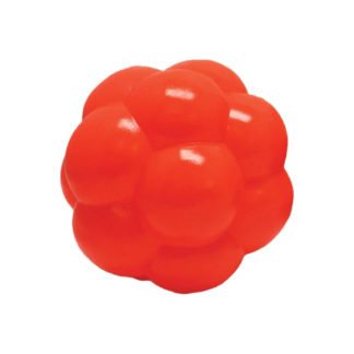 "Hueter Toledo Soft Flex Molecule Dog Toy Orange 4"" x 4"" x 4"""