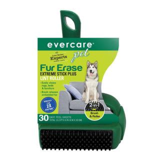 "Evercare Pet Plus Extreme Stick T-Handle Lint Roller 30 Sheet 8.25"" x 5"" x 3.5"""