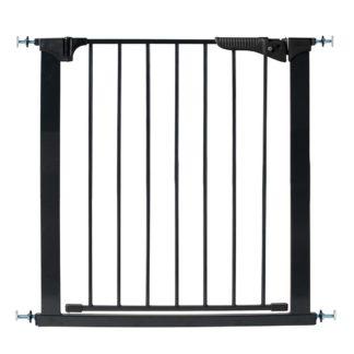 "Kidco Gateway Pressure Mounted Pet Gate Black 29"" - 37"" x 29.5"""