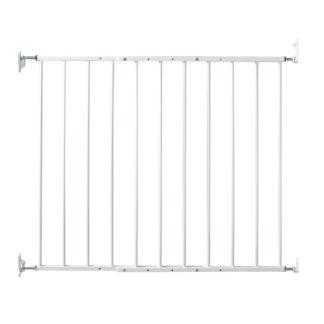"Kidco Safeway Wall Mounted Pet Gate White 24.75"" - 43.5"" x 30.5"""