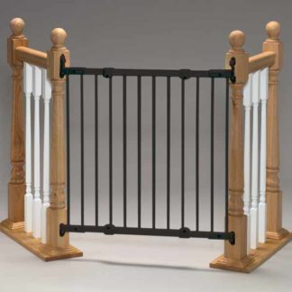 "Kidco Angle Mount Safeway Wall Mounted Pet Gate Black 28"" - 42.5"" x 31"""