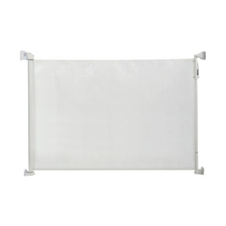 "Kidco Retractable Safeway Mesh Mounted Gate White 55"" x 1"" x 33.5"""