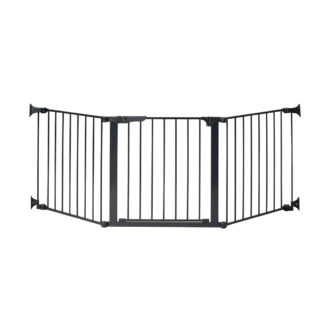 "Kidco Auto Close ConfigureGate Pet Gate Black 84"" x 31"""