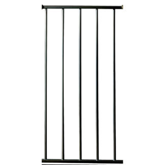 "Kidco Pressure Mounted Extension Kit 12"" Black 12"" x 29.5"""