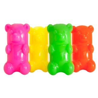 "Ruff Dawg GummyBear Dog Toy Assorted 2.5"" x 2"" x 6"""