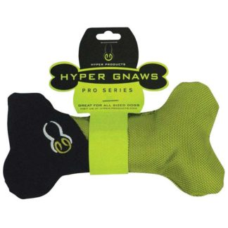 Hyper Pet Hyper Gnaws Big Bone Chew Toy Black / Green