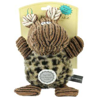 "Hyper Pet Bumpy Palz Hippo Dog Toy Large Brown 9"" x 5"" x 5"""