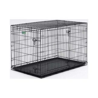 "Midwest Dog Double Door i-Crate Black 24"" x 18"" x 19"""