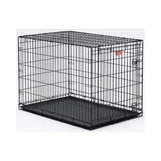 "Midwest Dog Single Door i-Crate Black 42"" x 28"" x 30"""