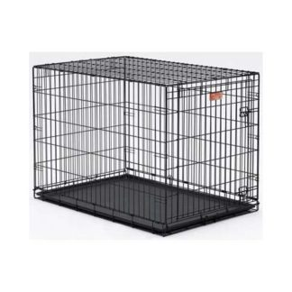 "Midwest Dog Single Door i-Crate Black 48"" x 30"" x 33"""