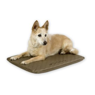 "K&H Pet Products Lectro-Soft Heated Outdoor Bed Medium Tan 19"" x 24"" x 1.5"""