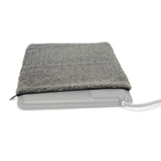 K&H Pet Products Deluxe Extreme Weather Kitty Pad Cover Gray