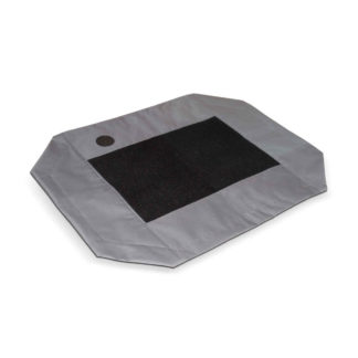 "K&H Pet Products Original Pet Cot Cover Medium Gray 25"" x 32"" x 0.25"""