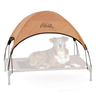 "K&H Pet Products Pet Cot Canopy Large Tan 30"" x 42"" x 28"""