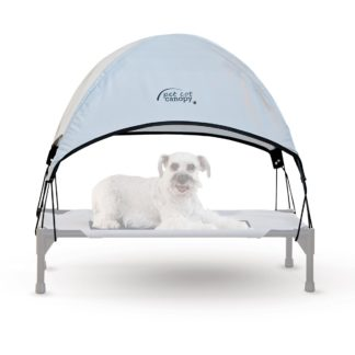 "K&H Pet Products Pet Cot Canopy Medium Gray 25"" x 32"" x 23"""