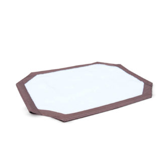 "K&H Pet Products Self-Warming Pet Cot Cover Medium Brown 25"" x 32"" x 0.25"""