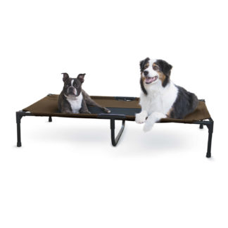 "K&H Pet Products Original Pet Cot Extra Large Chocolate 32"" x 50"" x 9"""