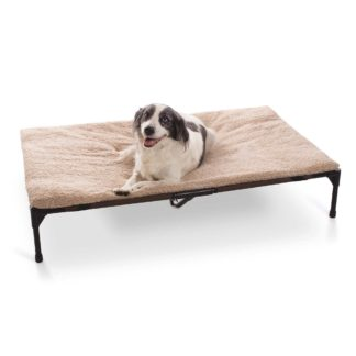 "K&H Pet Products Original Pet Cot Pad Extra Large Beige 32"" x 50"" x 1"""