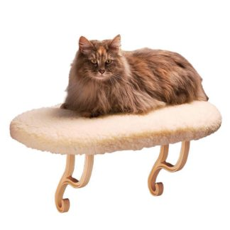 "K&H Pet Products Thermo Kitty Sill White 14"" x 24"" x 9"""