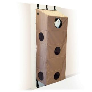"K&H Pet Products Hangin Cat Condo Large Tan 23"" x 16"" x 65"""