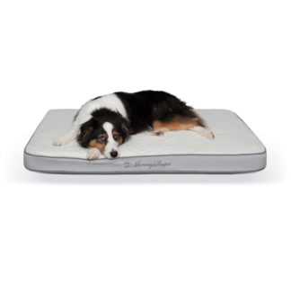 "K&H Pet Products Memory Sleeper Pet Bed Gray 29"" x 45"" x 3.75"""