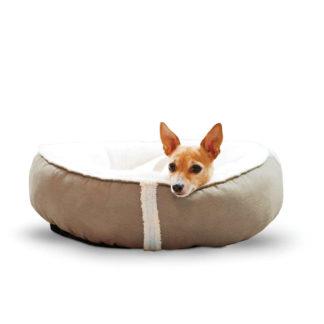 """K&H Pet Products Sleepy Nest Pet Bed Medium Caramel 24"""" x 24"""""""