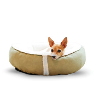 "K&H Pet Products Sleepy Nest Pet Bed Medium Sage 24"" x 24"""