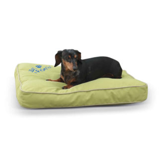 "K&H Pet Products Just Relaxin' Indoor/Outdoor Pet Bed Small Green 18"" x 26"" x 3.5"""
