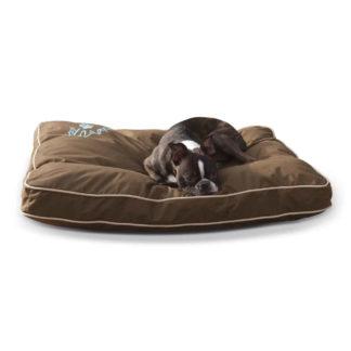 """K&H Pet Products Just Relaxin' Indoor/Outdoor Pet Bed Medium Chocolate 28"""" x 36"""" x 3.5"""""""