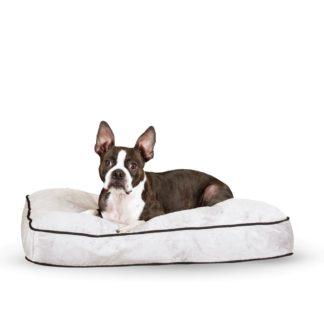 "K&H Pet Products Tufted Pillow Top Pet Bed Medium Gray 27"" x 36"" x 7.5"""