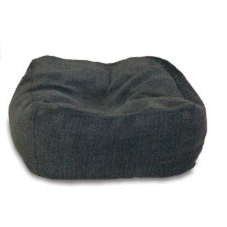 "K&H Pet Products Cuddle Cube Pet Bed Medium Gray 28"" x 28"" x 12"""