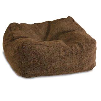 """K&H Pet Products Cuddle Cube Pet Bed Large Mocha 32"""" x 32"""" x 12"""""""