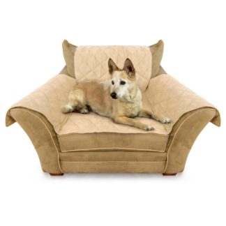 "K&H Pet Products Furniture Cover Chair Tan 22"" x 26"" seat, 42"" x 47"" back, 22"" x 26"" side arms"