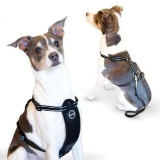 K&H Pet Products Travel Safety Pet Harness Medium Black