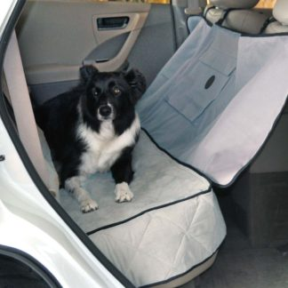 "K&H Pet Products Deluxe Car Seat Saver Gray 54"" x 58"" x 0.25"""