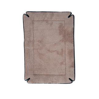 "K&H Pet Products Memory Foam Dog Crate Pad Mocha 14"" x 22"" x 0.5"""