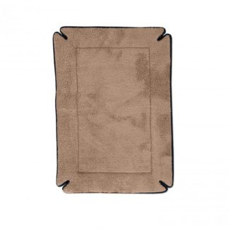 "K&H Pet Products Memory Foam Dog Crate Pad Gray 14"" x 22"" x 0.5"""