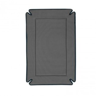 "K&H Pet Products Odor-Control Dog Crate Pad Gray 20"" x 25"" x 0.5"""