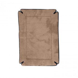 "K&H Pet Products Memory Foam Dog Crate Pad Gray 25"" x 37"" x 0.5"""