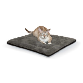 "K&H Pet Products Self-warming Pet Pad Gray/Black 21"" x 17"" x 1"""
