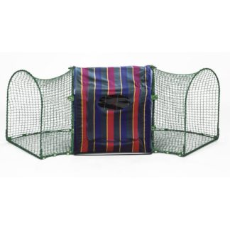 "Kittywalk Clubhouse Striped 24"" x 18"" x 24"""