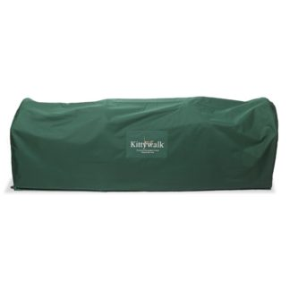 "Kittywalk Outdoor Protective Cover for Kittywalk Deck and Patio Green 72"" x 18"" x 24"""