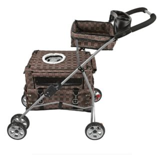 "Kittywalk Flying Stroller Royale 20"" x 12"" x 32"""