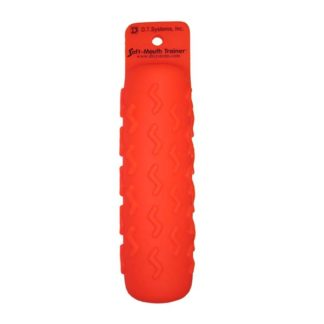 "D.T. Systems Sporting Dog Soft Mouth Trainer Dummy 3 pack Large Orange 11.5"" x 2.5"" x 2.5"""