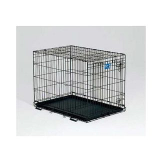 "Midwest Life Stages Single Door Dog Crate Black 24"" x 18"" x 21"""
